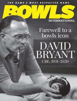 Bowls International Oct 2020