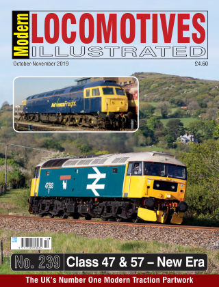 Modern Locomotives Illustrated 239_Oct 2019