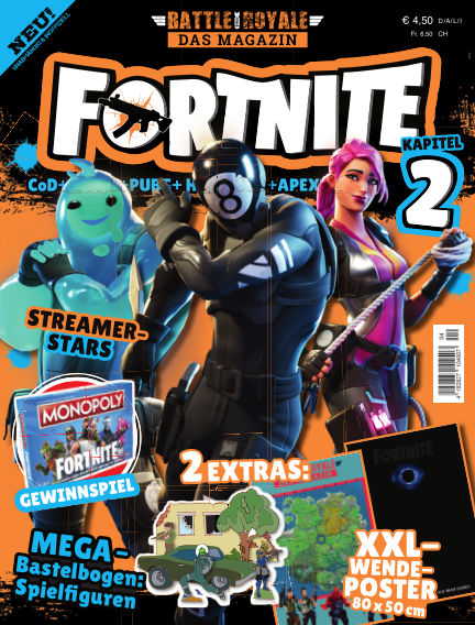 Fortnite / Battle Royale: Das Magazin November 02, 2019 00:00