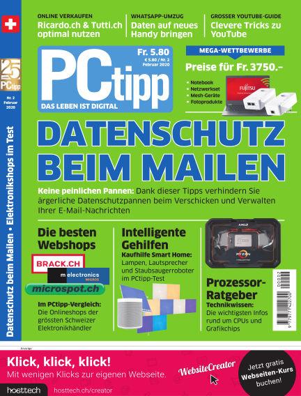 PCtipp January 31, 2020 00:00