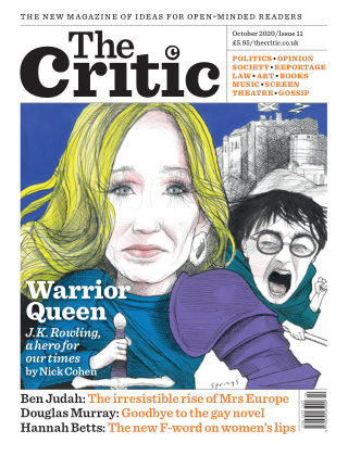 The Critic October 2020