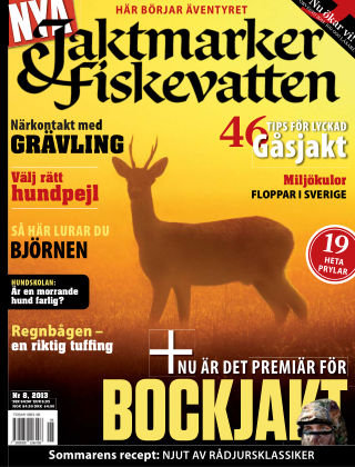 Jaktmarker & Fiskevatten 2013-07-18