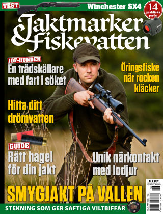 Jaktmarker & Fiskevatten 2017-05-21