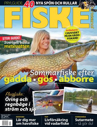 Fiskejournalen 2017-06-29