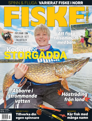 Fiskejournalen 2018-10-16