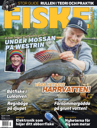 Fiskejournalen 2019-05-21