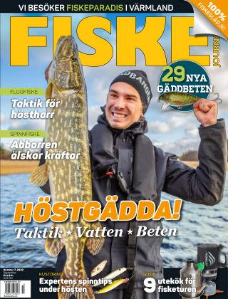Fiskejournalen 2020-08-25