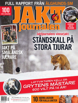 Jaktjournalen 2019-11-21