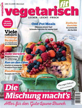 vegetarisch fit 2/18