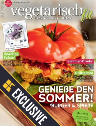 Vegetarisch fit Readly Exclusive Sommer Spezial