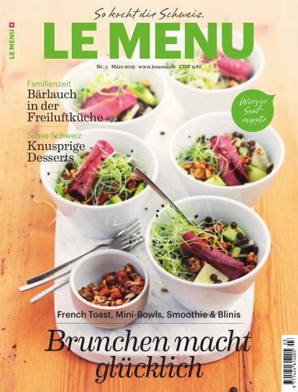 le menu February 21, 2019 00:00