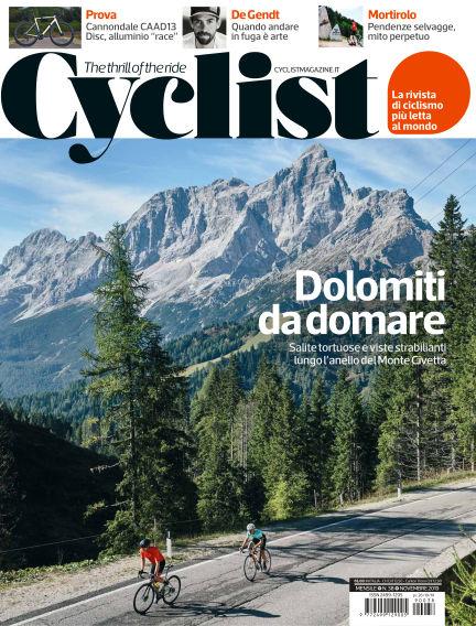 Cyclist - IT October 26, 2019 00:00