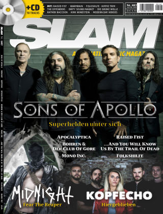 SLAM - alternative music magazine 107