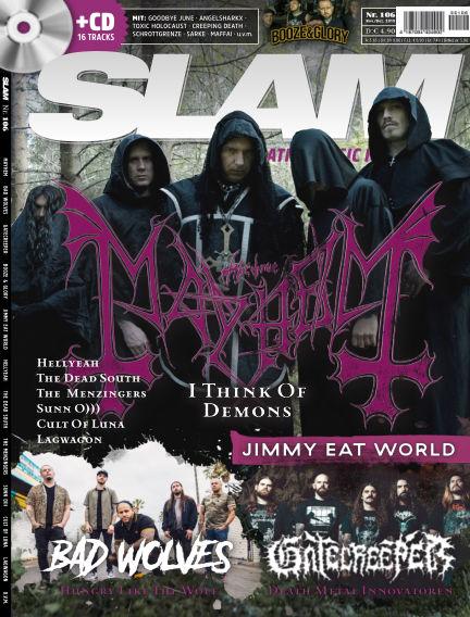 SLAM - alternative music magazine October 16, 2019 00:00