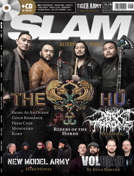 SLAM - alternative music magazine August 21, 2019 00:00