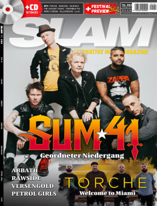 SLAM - alternative music magazine 104