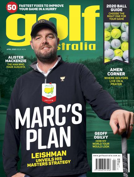 Golf Australia March 30, 2020 14:00