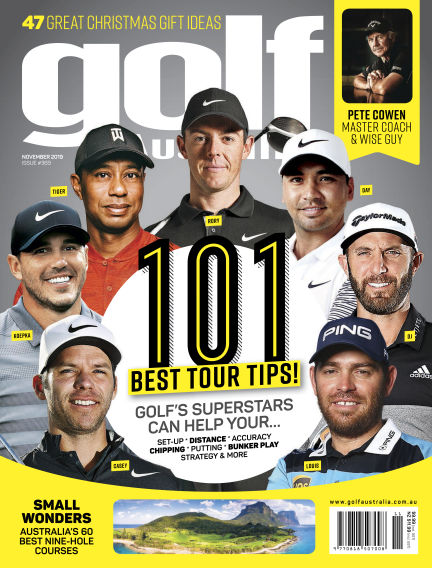 Golf Australia November 19, 2019 00:00