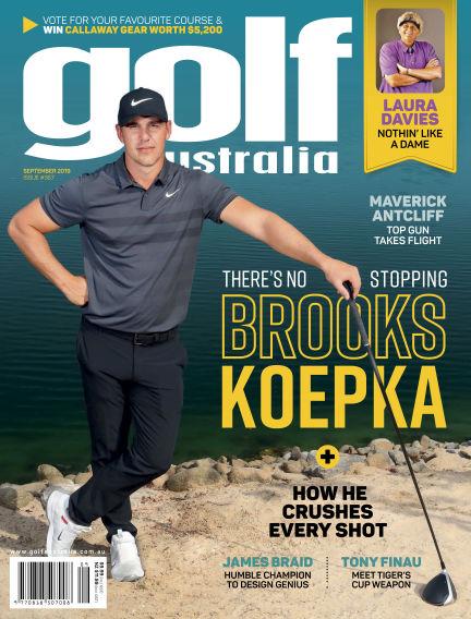 Golf Australia September 19, 2019 00:00