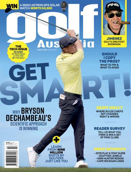 Golf Australia March 19, 2019 00:00