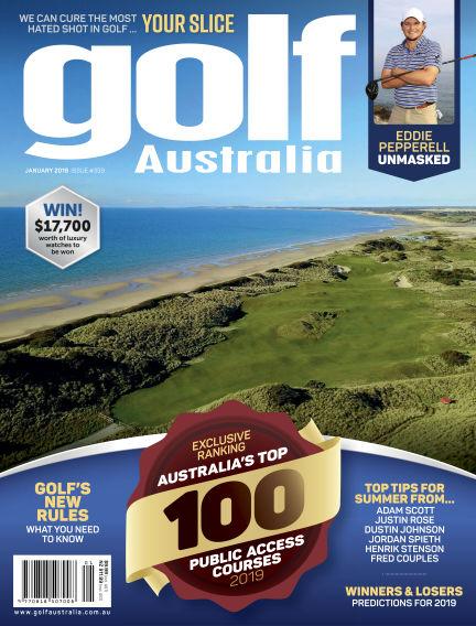 Golf Australia January 19, 2019 00:00