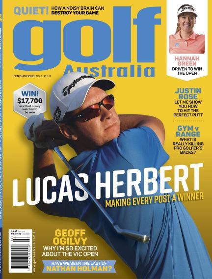 Golf Australia February 19, 2019 00:00