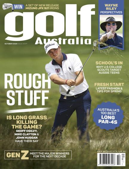 Golf Australia September 16, 2020 14:00