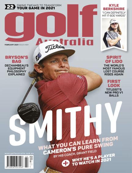 Golf Australia January 20, 2021 13:00
