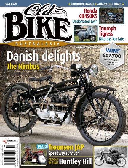 Old Bike Australasia January 19, 2019 00:00