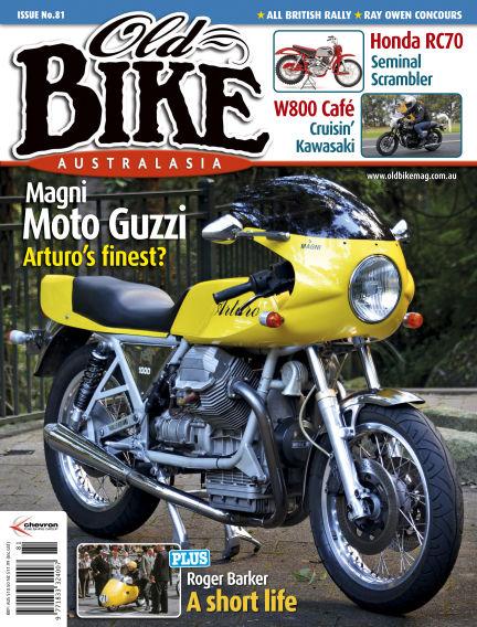 Old Bike Australasia September 19, 2019 00:00