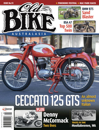 Old Bike Australasia Issue 92