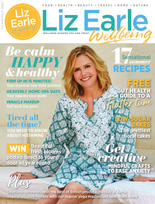 Liz Earle Wellbeing July/August 2020