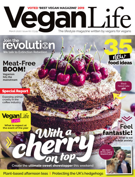 Vegan Life March 06, 2020 00:00