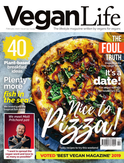 Vegan Life January 16, 2020 00:00