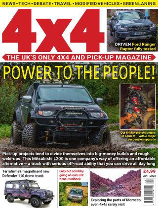 4x4 Magazine April 2020