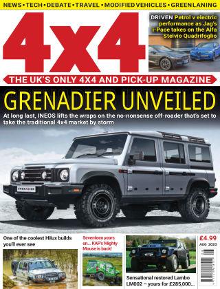 4x4 Magazine August 2020