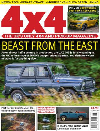 4x4 Magazine September 2020