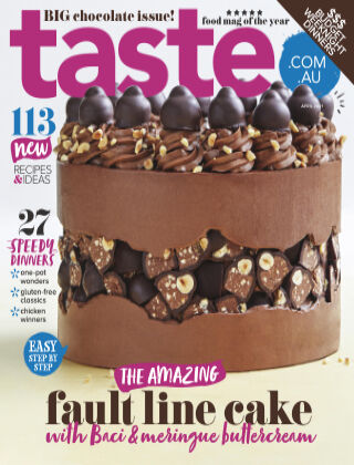 taste.com.au magazine April 2021