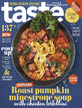 taste.com.au magazine May 2021
