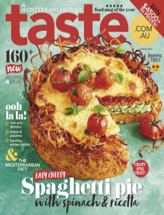taste.com.au magazine August 2021