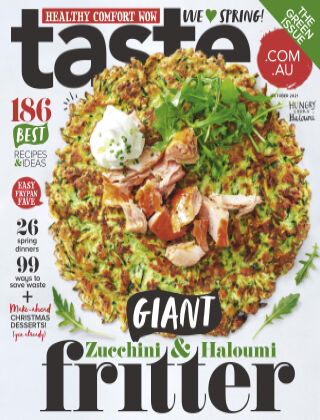 taste.com.au magazine October 2021