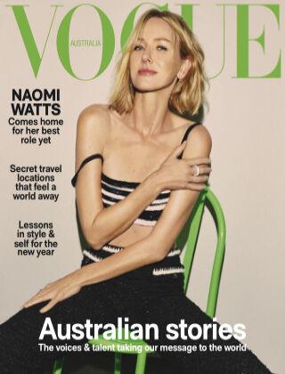 Vogue Australia January 2021