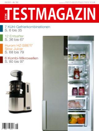 ETM TESTMAGAZIN 2021/08