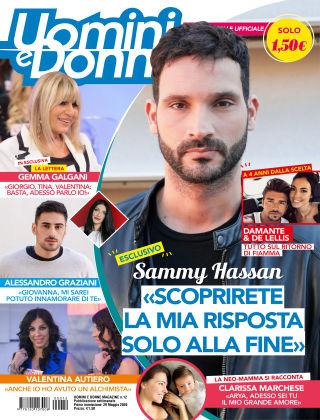 Uomini e Donne magazine n. 12, 2020