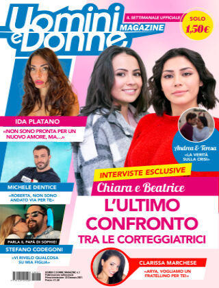 Uomini e Donne magazine n. 1, 2021