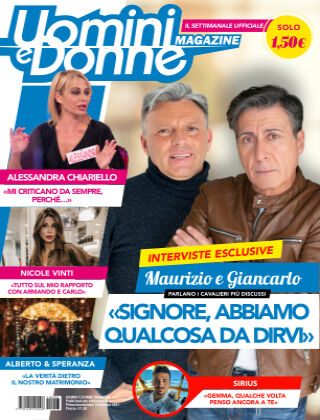Uomini e Donne magazine n. 3, 2021