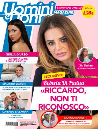 Uomini e Donne magazine n. 5, 2021