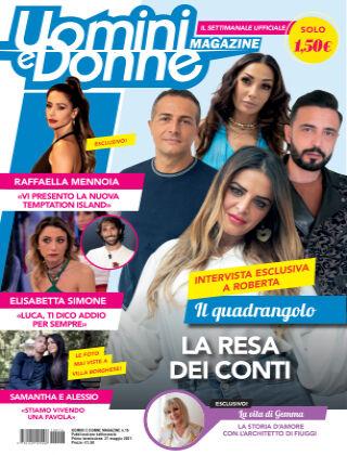 Uomini e Donne magazine n. 16, 2021