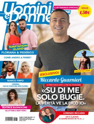 Uomini e Donne magazine n. 25, 2021