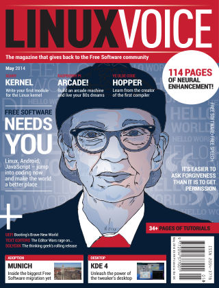 Linux Voice May 2014